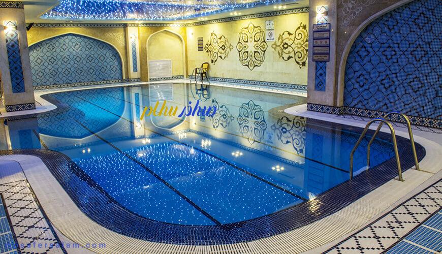 مجموعه آبی هتل مدینه الرضا