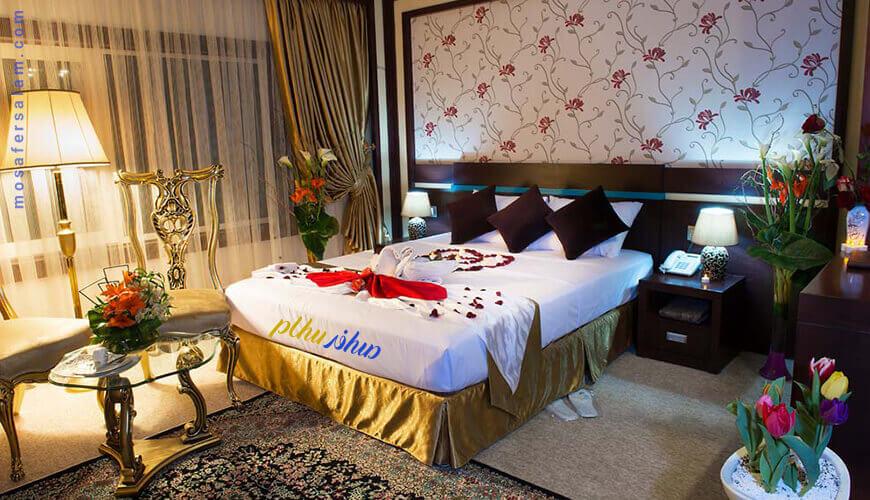 اتاق عروس و داماد هتل مدینه الرضا