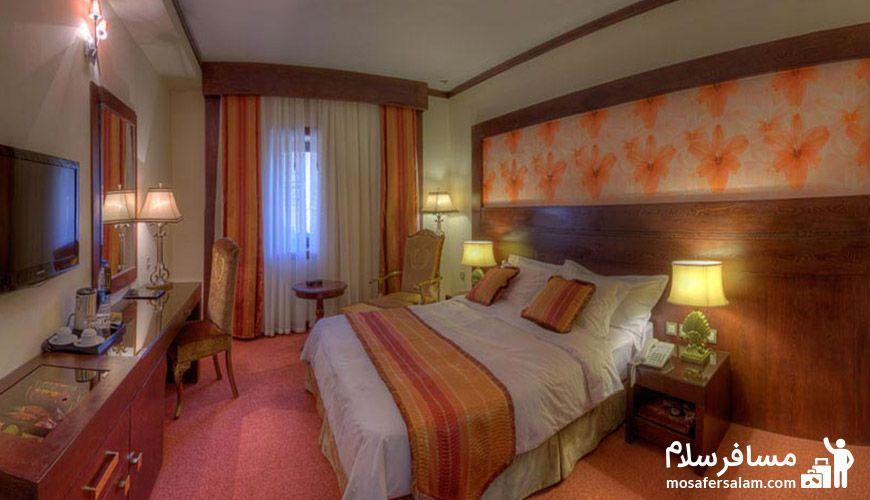 عکس اتاق هتل درویشی