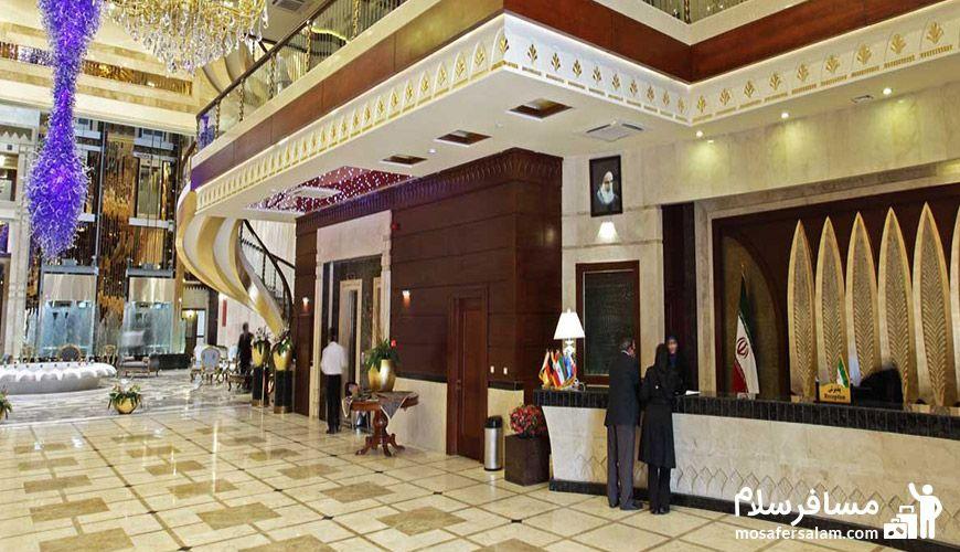 تصویری از رزروشن هتل درویشی