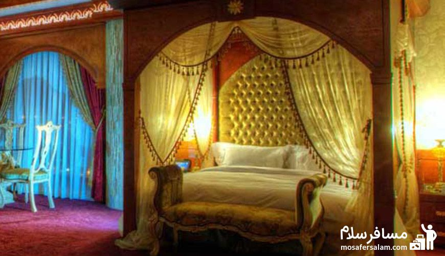 اتاقی دیگر از هتل درویشی