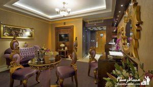 پرزیدنت, هتل بین المللی قصر مشهد