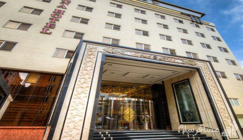 نمای بیرونی هتل کیانا مشهد