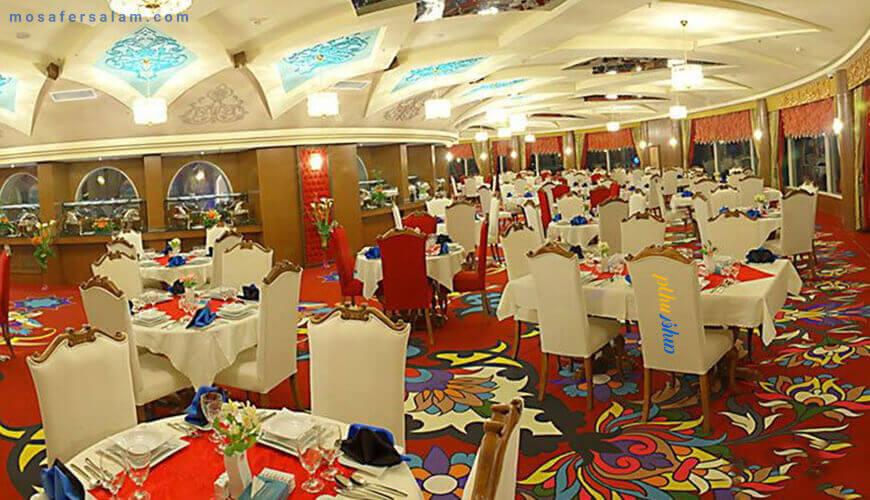 رستوران گردون هتل مدینه الرضا مشهد