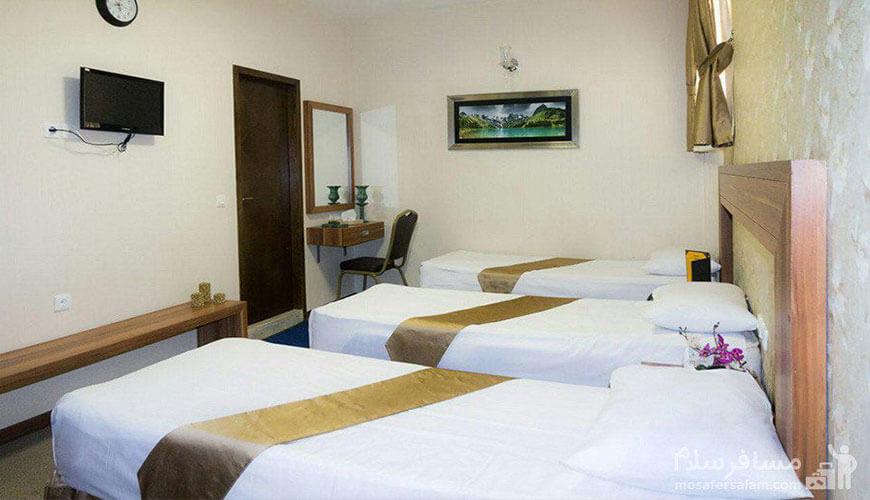 اتاق خواب هتل آیران مشهد