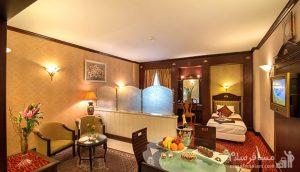 اتاق یک تخته هتل قصر, رزرواسیون مسافر سلام