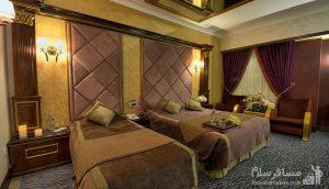 اتاق دو تخته هتل قصر, رزرواسیون مسافر سلام