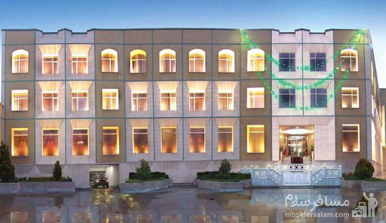 هتل قصر الضیافه مشهد، رزرواسیون مسافر سلام