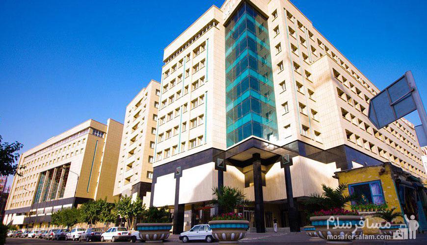 هتل هتل های مشهد خیابان نواب صفوی | آپارتمان حیات شرق