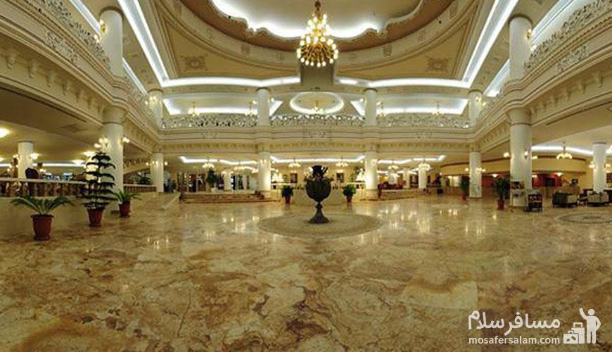 لابی هتل قصر طلایی