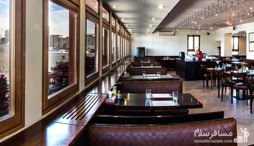 رستوران هتل مشهد تهران