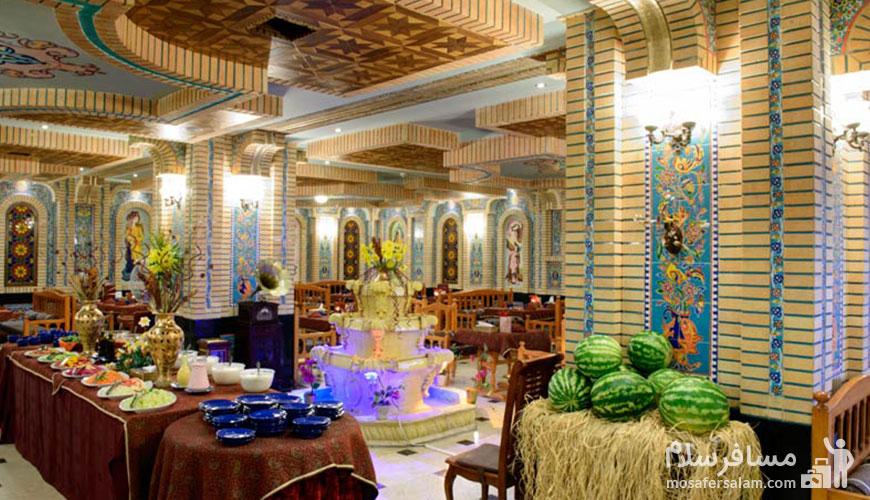 رستوران سنتی هتل قصر
