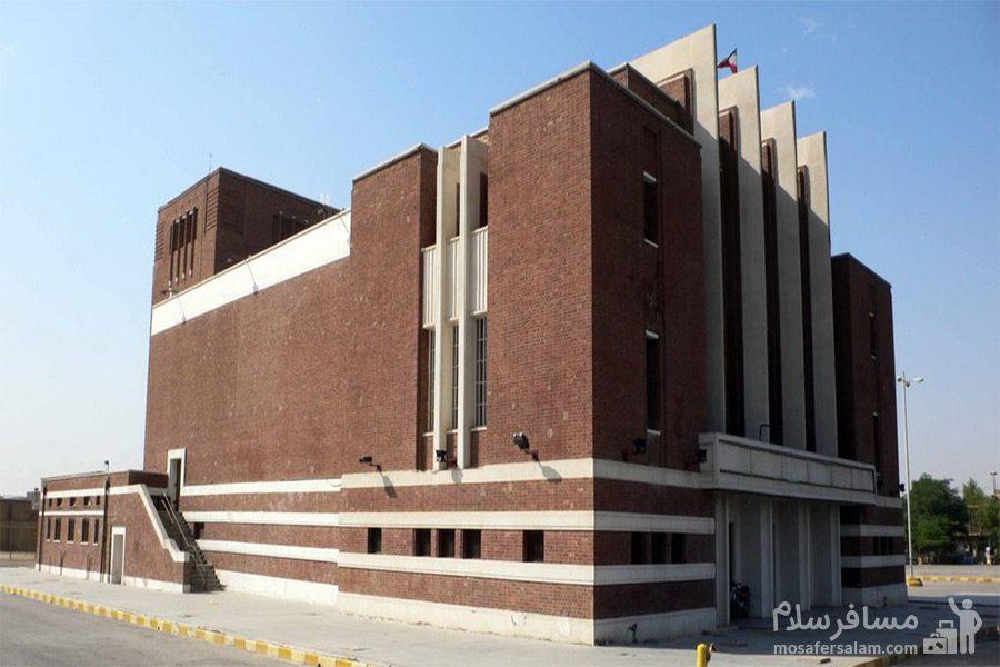 سینما نفت آبادان، نما جانبی