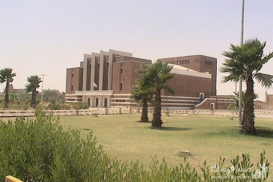 سینما نفت آبادان از فضای دور