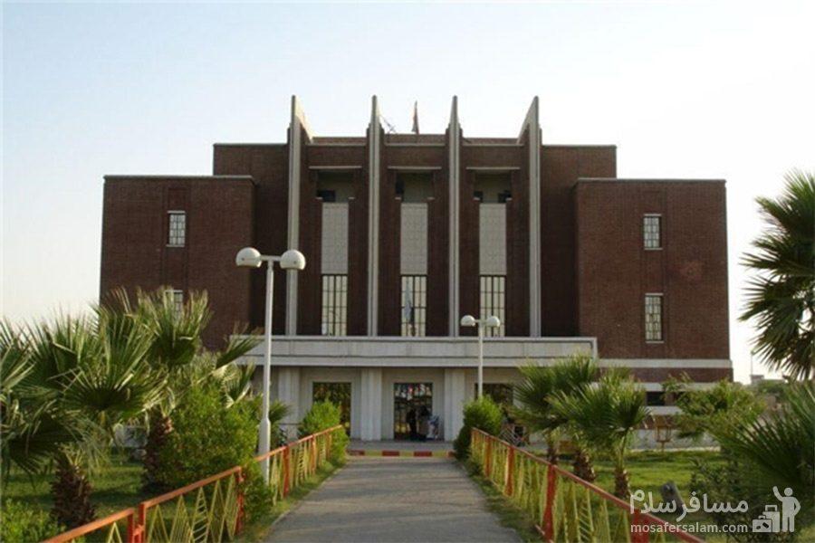 سینما نفت آبادان، نما روبرو