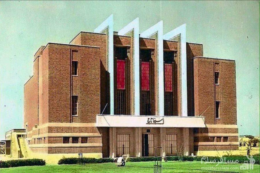 تصویر قدیم سینما نفت آبادان
