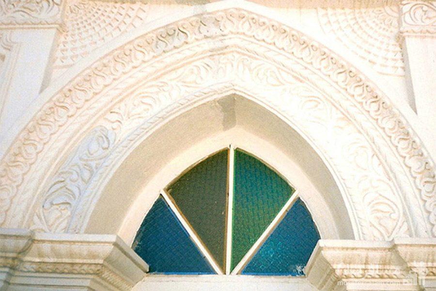 پنجره مسجد رنگونی ها