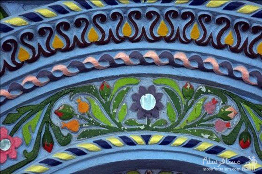 نقش برجسته مسجد رنگونی ها