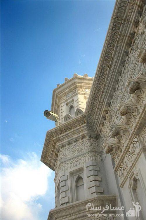 نمایی از ساختمان مسجد رنگونی ها