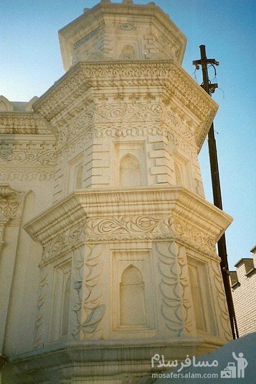 طراحی ساختمان بیرونی مسجد رنگونی ها