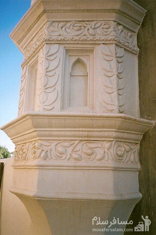 نمای دیگر از ساختمان مسجد