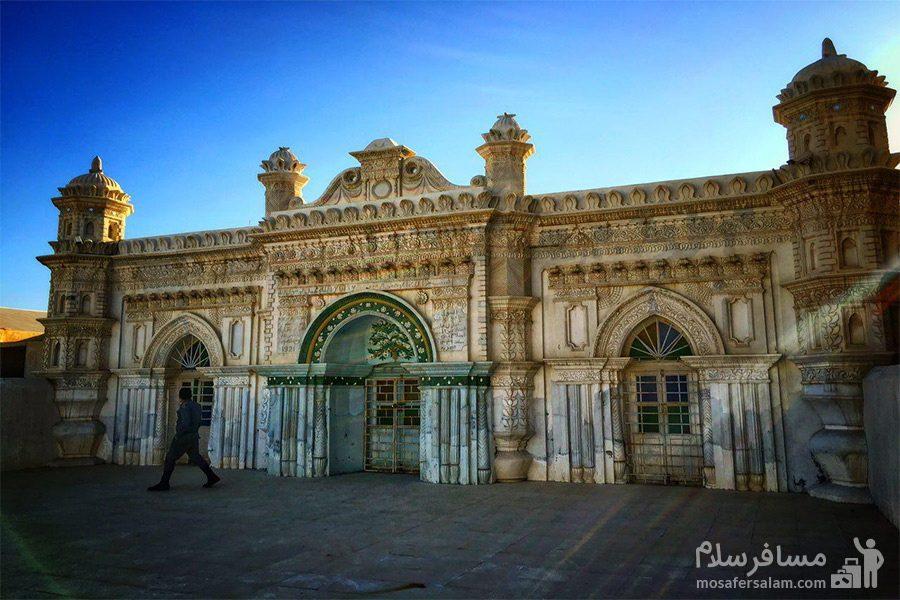 تصویر زیبا از مسجد رنگونی ها