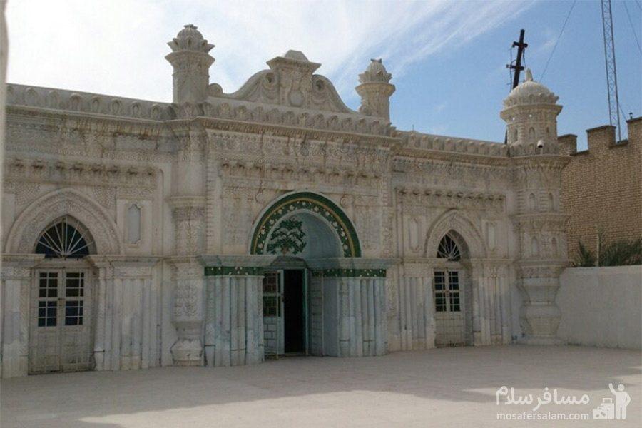 نمای دیگر مسجد