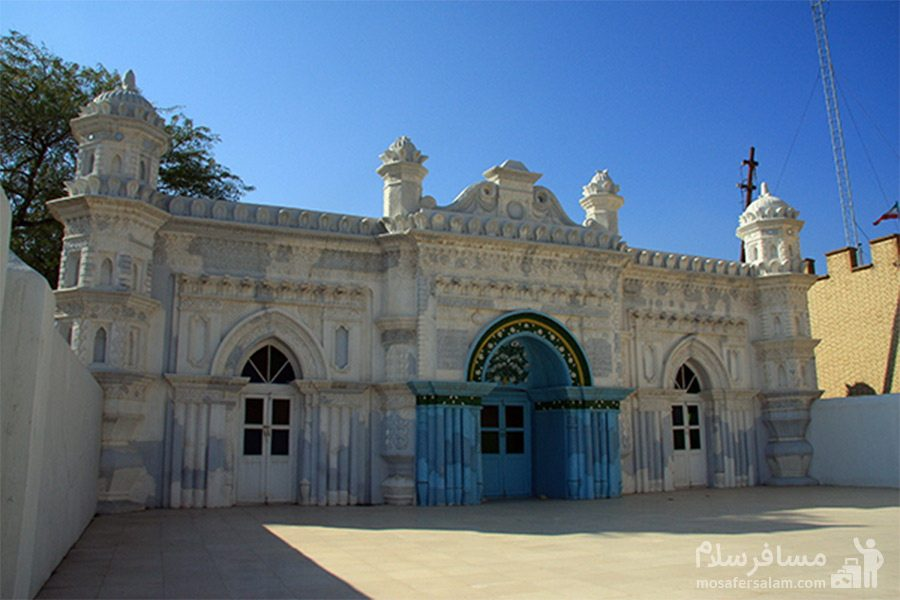 مسجد رنگونی ها - نمای بیرونی
