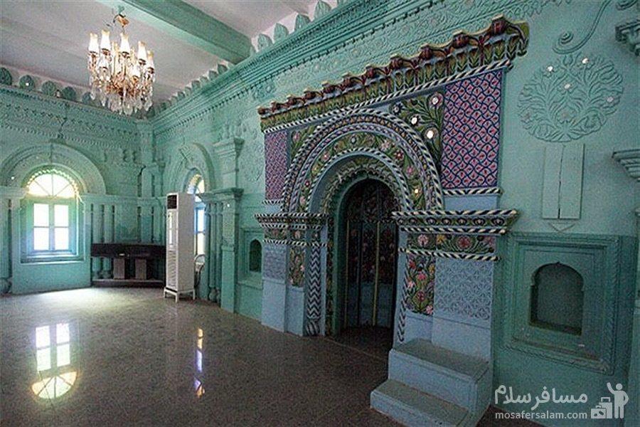 داخل ساختمان مسجد