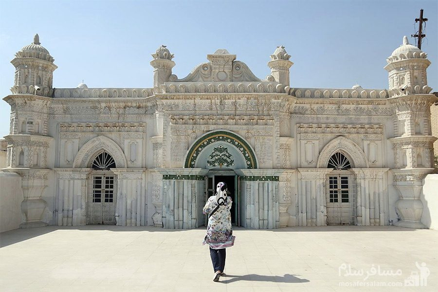 عکس مسجد رنگونی ها