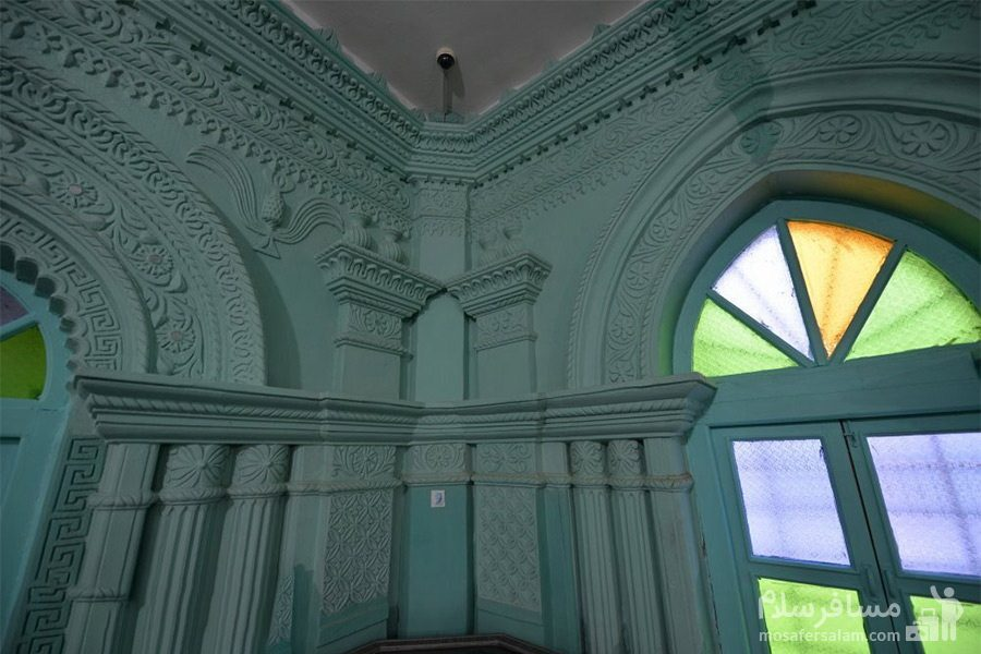 طراحی زیبای داخلی مسجد