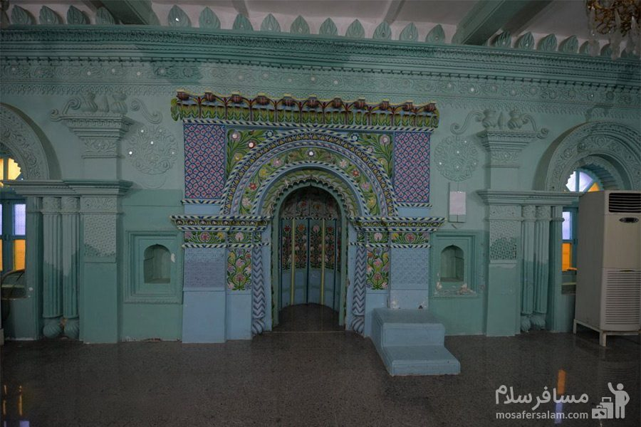 مسجد رنگونی ها - نمای داخلی