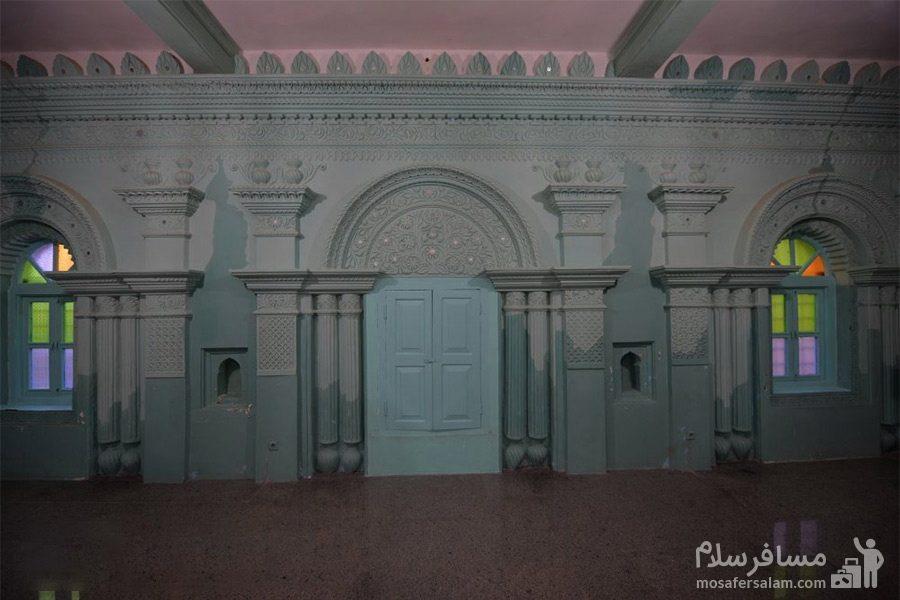 آبادان - مسجد رنگونی ها - بنای تاریخی