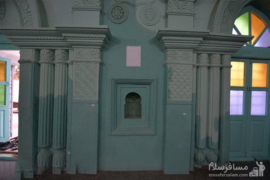 مسجد رنگونی های شهرستان آبادان