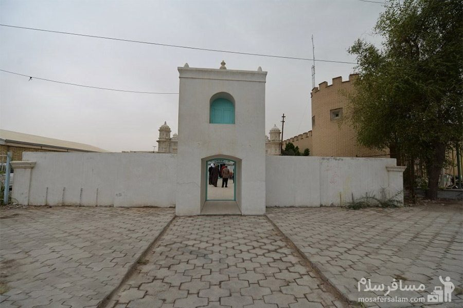 حیاط مسجد رنگونی ها