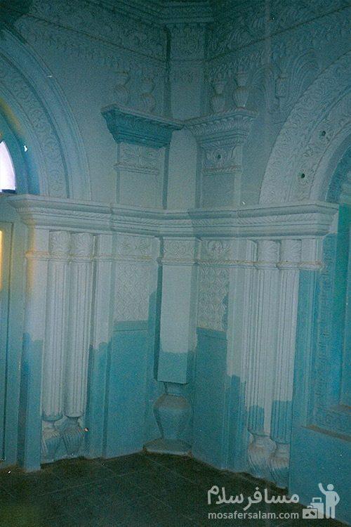 نمای داخلی مسجد رنگونی ها