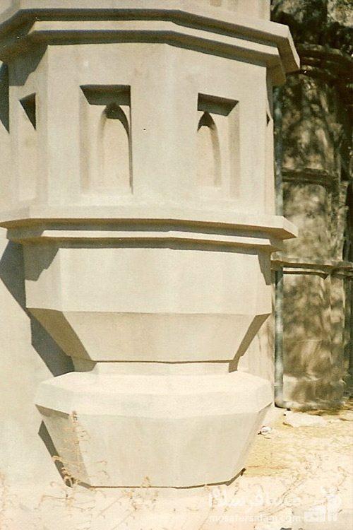 مسجد رنگونی های آبادان - نمای بیرونی