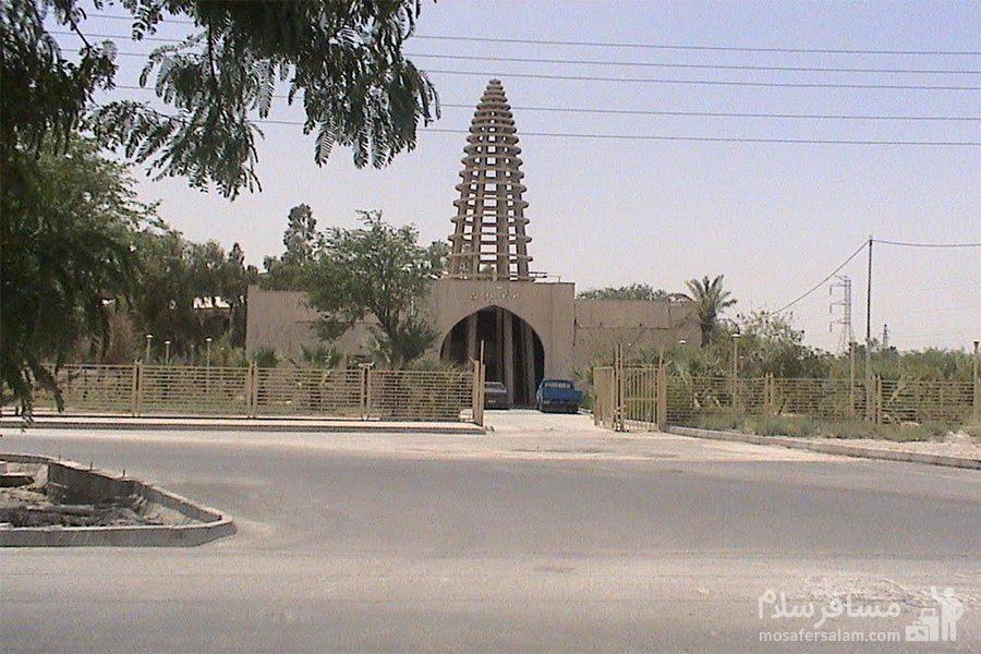 محیط موزه آبادان