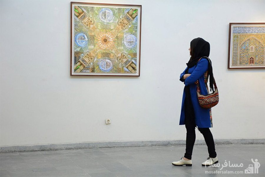 آثار هنری موزه آبادان
