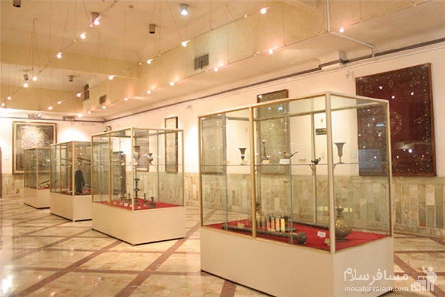 نمای داخل موزه ی آبادان