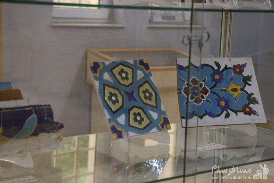 کاشی کاری های موزه آبادان