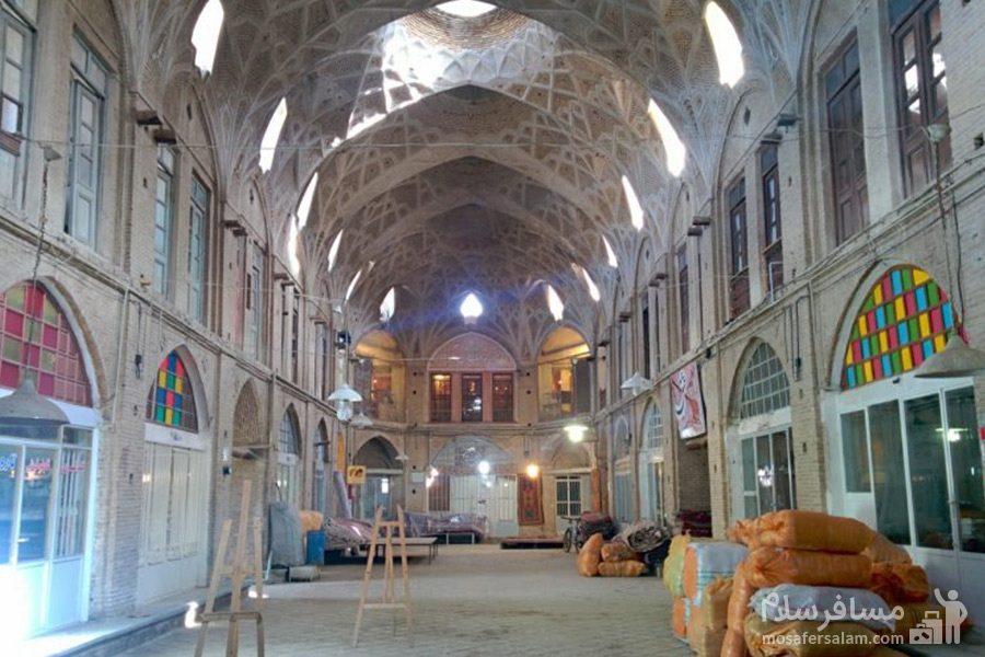 نمایی از بازار تاریخی اراک