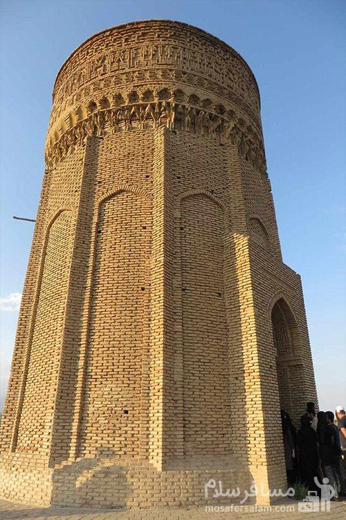 بازدید از برج طغرل (برج مهماندوست)