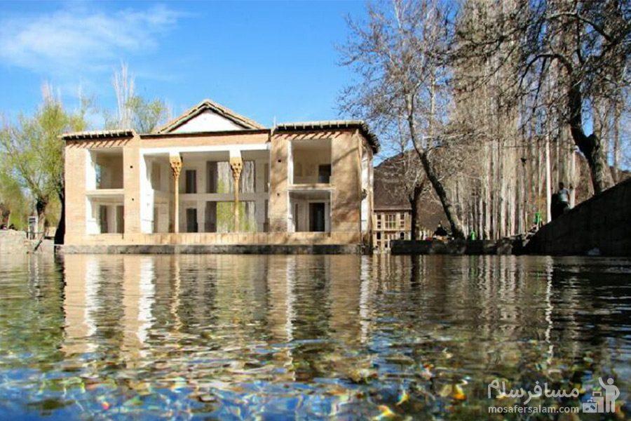 دریاچه زیبای چشمه علی دامغان