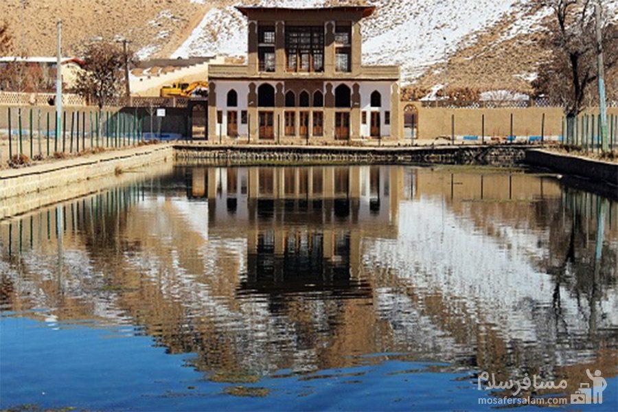 زمستان چشمه علی دامغان