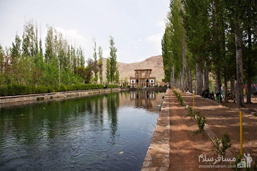 محوطه چشمه علی دامغان