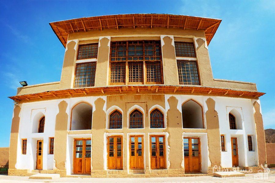بنا ساختمان چشمه علی دامغان