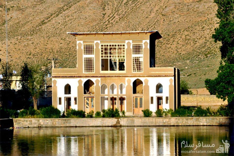 ساختمان پشتی چشمه علی دامغان