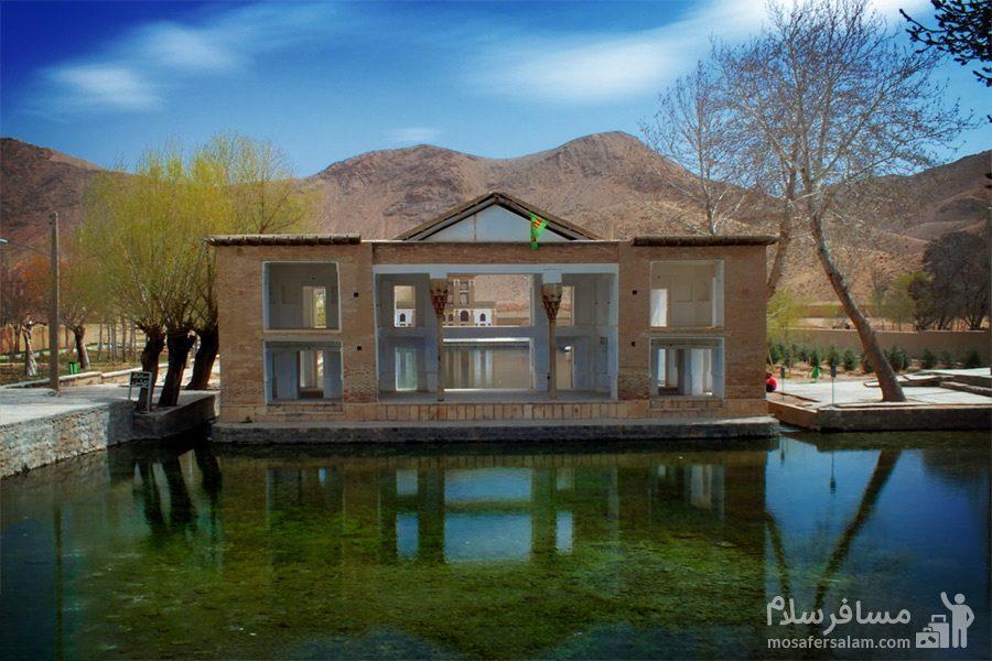 دریاچه شمالی چشمه علی دامغان