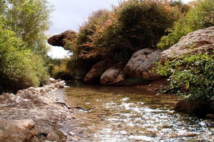 طبیعت بکر چشمه قلقل دامغان